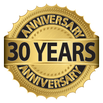 Happy Birthday Caragh Precision - 30 year anniversary
