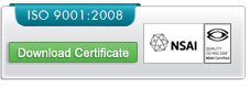 Download our ISO 9001:2008 certificate
